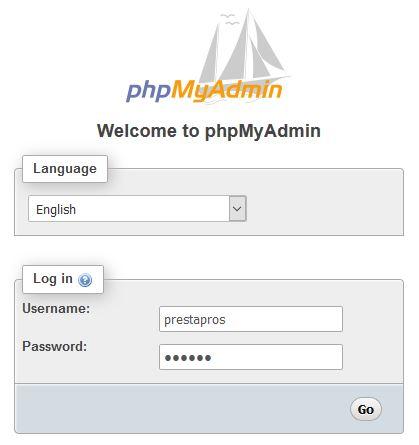 emergency password reset prestashop