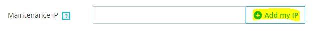 prestashop 1.7 dodawnie adresu ip przerwa techniczna