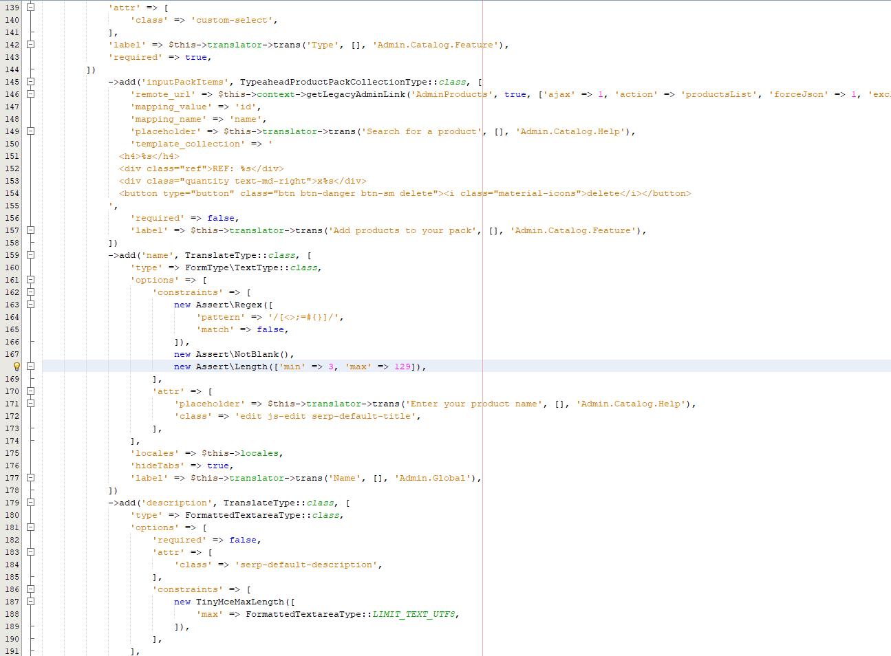 zmiana dlugosci nazwy produktu prestashop 1.7